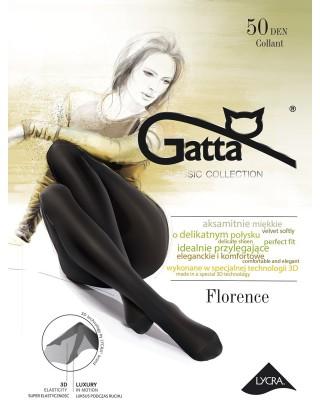 Rajstopy damskie Gatta - Florence 3D / 50 den