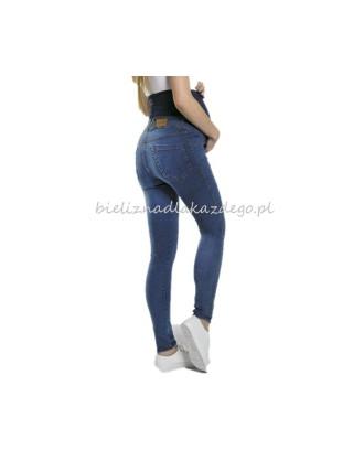 Legginsy ciążowe jeansowe M804 Paulo Connerti