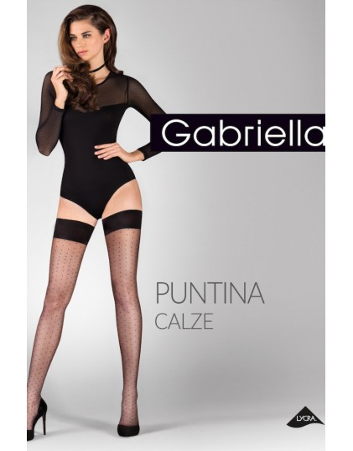 Pończochy samonośne Gabriella - Puntina