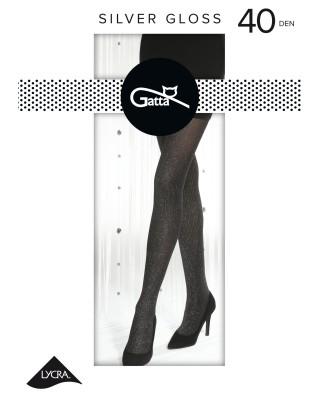 Rajstopy damskie Gatta - Silver Gloss 40 den