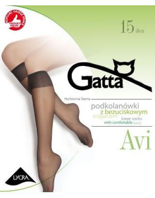 Podkolanówki damskie Gatta - Avi  bezuciskowe