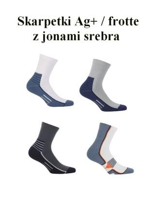 Skarpetki męskie Wola - AG+ / Półfrotte