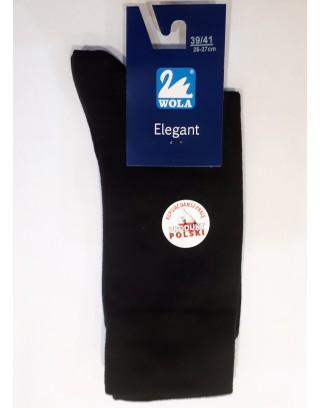 Skarpety garniturowe bawełniane WOLA Elegant